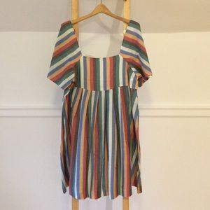Madewell Striped Box  Dress